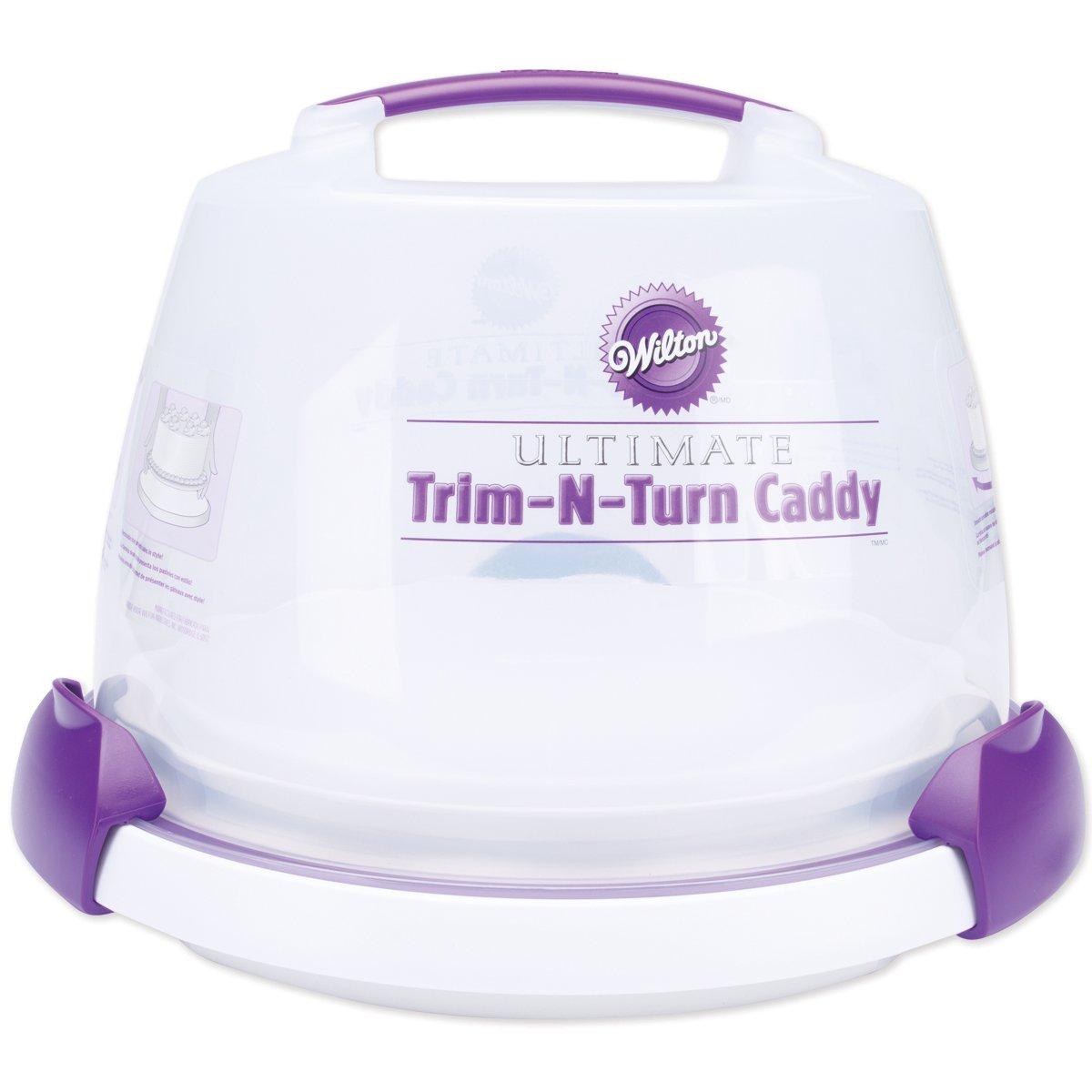 Wilton Ultimate Trim N Turn Caddy Cake Decorating Transporti