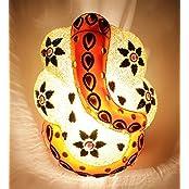 New Era Multicolor Ganesh Ji Wall Lamp
