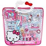 Hello Kitty Mega Pvc Tote Bag With Cosmetics