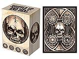 100 Dead Man's Hand Deck Protectors & Deck Box Combo Set Legion Supplies Matte Finish Sleeves 2-Packs - Standard Magic the Gathering Size