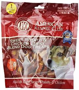 Amazon.com : AKC Sweet Potato Chicken Jerky Twists Dog