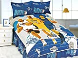 Cartoons Kids Collection Single Bedsheet with Single Pillow Covers