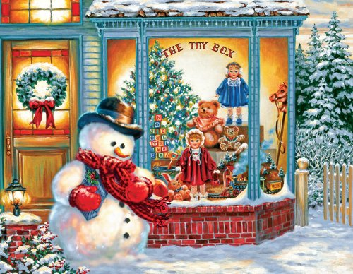 Frosty's Toy Box Jigsaw Puzzle