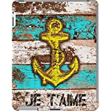 DailyObjects Anchor Marine In Blue Case For IPad 2/3/4