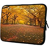 """Snoogg 7 10"""" 10.5"""" 10.6"""" Inch Laptop Notebook Slipcase Sleeve Soft Case Carrying Case For Macbook Pro Acer Asus..."""