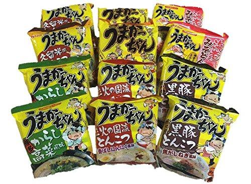 【うまかっちゃんよくばりセット】 人気の6種類×2食分 12食分セット 九州では不動の人気の味を食べ比べ! …