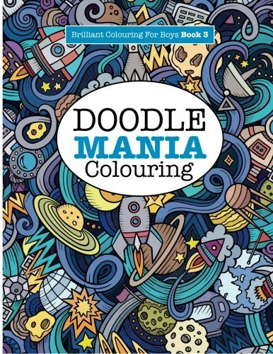 NEW Doodle Mania Colouring