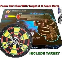 Foam Dart Gun With 6 Foam Darts