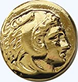 Alexander the Great, King of Macedonia, Ruler of the known World in 323 BC. # G-1