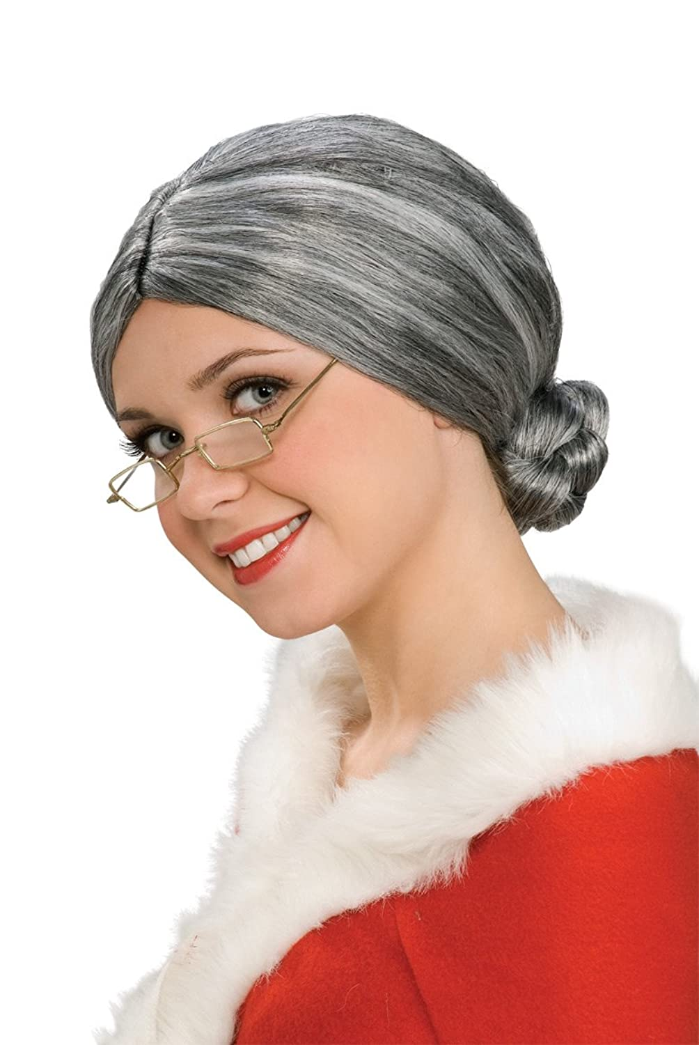 Old Lady / Mrs. Santa Wig - $8...