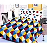 Sleepinns_Cotton Geometric Printed Double Bedsheet With 2 Pillow Cover