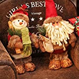 Generic B : 1 Piece Red Wine Bottle Cover Bags Christmas Dinner Table Decoration Home Party Decors Santa Claus