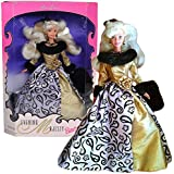"""Mattel Year 1996 Special Edition """"Evening Elegance"""" Series 12 Inch Doll Set Evening Majesty Barbie With Gown,..."""