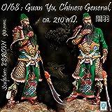 Alexandros Models 90mm Guan Yu Romance of Three Kingdom White Metal Kit #O/68