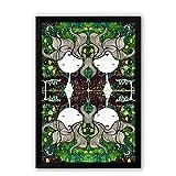 PosterGuy The Dreamer Girl Deisgner Glass Framed Poster