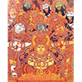 """Dolls Of India """"Sita Agnipravesh"""" Reprint On Paper - Unframed (38.73 X 31.75 Centimeters)"""