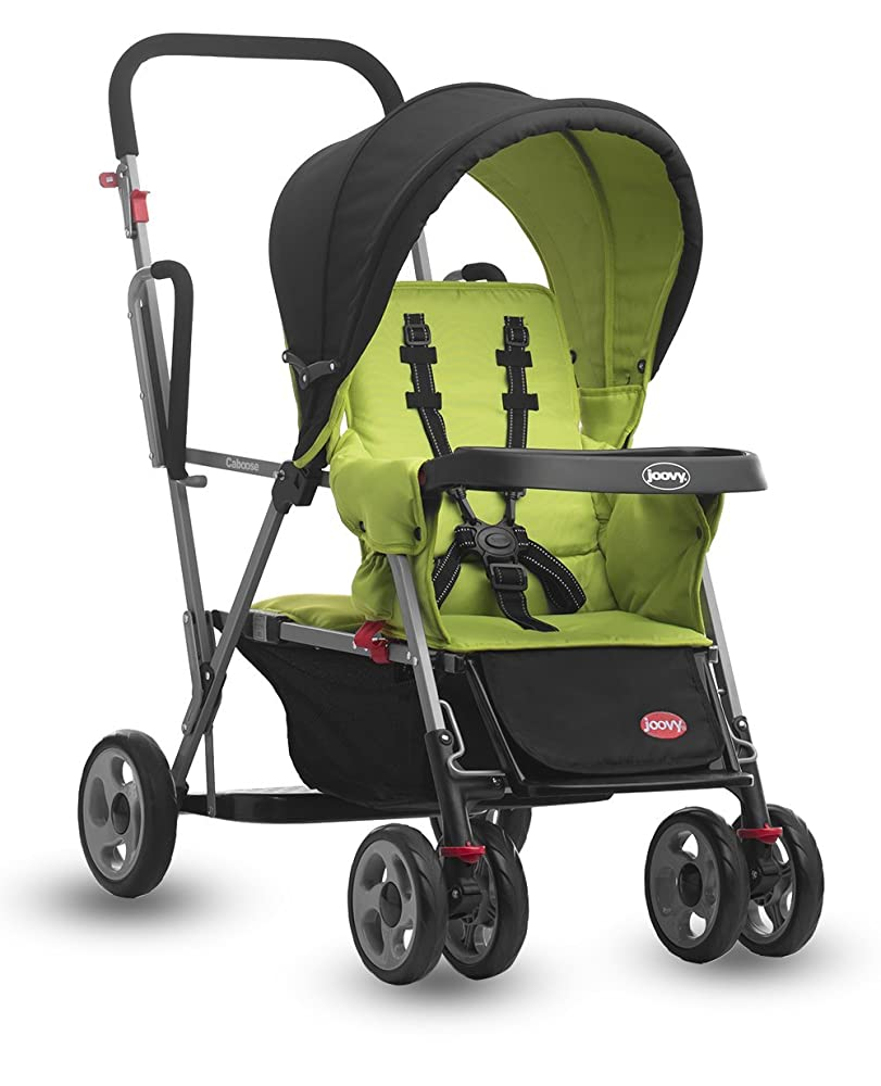 Joovy Caboose Stand On Tandem Stroller, Appletree