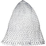 Magideal Portable Nylon Folding Fishing Landing Net Rhombus Mesh Landing Dip Net-40cm