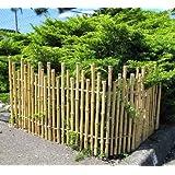 Amazon.com : Yotsume-gaki Japanese Bamboo Pedestrian Fence