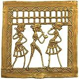 Ashoka Arts Brass Wall Hanging (12.5 Cm X 0 Cm X 12.5 Cm)