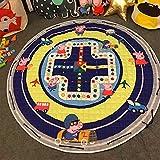 TheTickleToe Multifunction Cartoon Lovely Animal Cute Peppa Pig Pattern Play Mats Rug Toy Storage Bag Crawling Rug Carpet For Baby Nursery Kids Room Nordic Style
