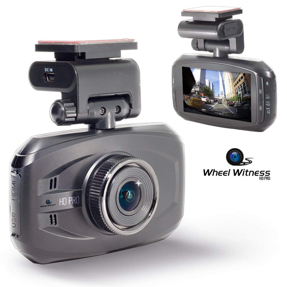 Wheel Witness HD PRO Dash Cam with GPS