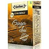 GeeBees Chai Gold Instant Premix Ginger Tea Sweetened, 140g