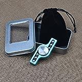 New Aluminum Alloy Hand Spinner Steel Ball EDC Finger Spinner Fidget Spinner (Blue)