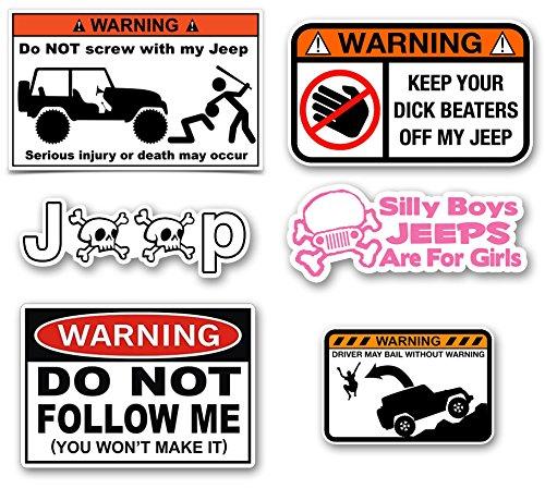 Jeep Decals Mega Sticker Pack