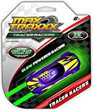 Max Traxxx Tracer Racers Light Trace Technology Gravity Drive Car (Assorted Colors)