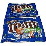 M&m's Pretzel Chocolate Candy - Fun Size 9.20 Oz: Bundle Of 2 Bags