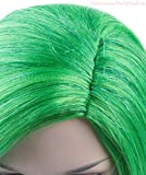 Halloween Party Online Disgust Inside Green Wig Out Costume Cosplay Idea HW-137