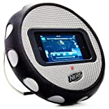 IHome NERF Multimedia Wheel Speaker For All IPhone & IPod Touch Motion Sensing Games - With Extra Durable Padded...