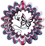 Iron Stop Designer Butterfly Wind Spinner - D120-10