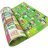 PLAY CUBE 1 Pc Mat ,Kids Floor Mat, Designer Floor Mat, Kids Floor Mate, Kids Playground, Colorful Floor Mate...