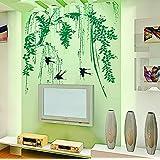 Spring Bamboo Swallow Home Decor Wall Sticker