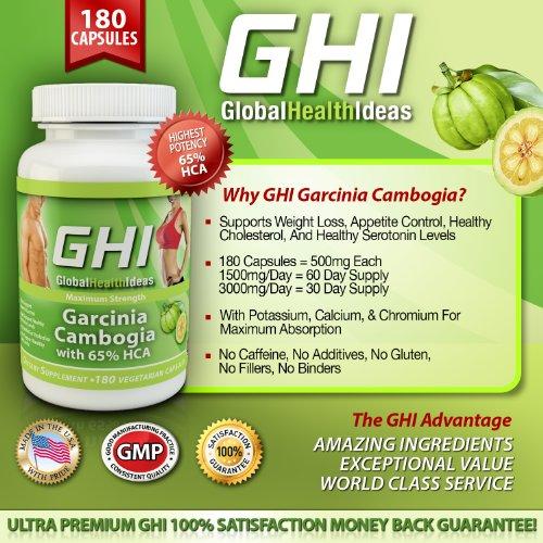 garcinia cambogia 1000 mg 180 capsules