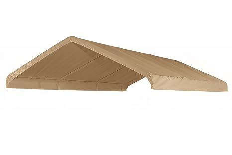 14 X 20 Heavy Duty 12 mil Valance Replacement Canopy Tarp Carport ...