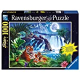 Ravensburger Tiger Waterfall Starline, Multi Color (1000 Pieces)