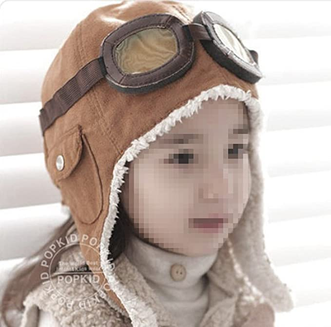 Children`s Pilot Aviator Cap -...