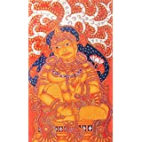 """Dolls Of India """"Sita In Exile"""" Reprint On Paper - Unframed (44.45 X 26.67 Centimeters)"""