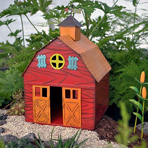 Miniature Fairy Garden Barn on the Farm
