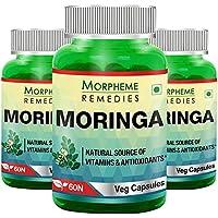Morpheme Moringa 500mg Extract 60 Veg Caps - 3 Bottles