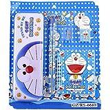 Shoppertize Doraemon Kids Stationery Set, Best Gift Set, Return Gift Set (Set Of 5 Pcs)