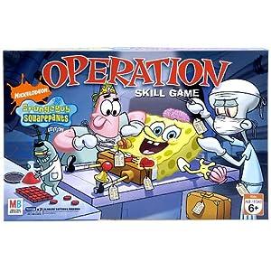 Click to buy Spongebob Squarepants Operation game from Amazon!