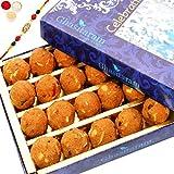 Rakhi Gifts Sweets- Ghasitaram's Special Besan Laddoo (200 Gms)