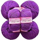 Vardhman Acrylic Knitting Wool, Pack Of 6 (Falsa) (Pack Of 8)