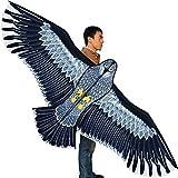 Hengda Kite Strong Eagles!Huge Beginner Eagle Kites For Kids And Adults.74 Inch
