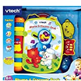 Vtech Rhyme And Discover Book Green(Mfg Age: 6 Months And Up)(Combines Rhythm And Rhyme)