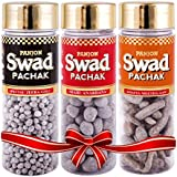 Swad Combo Pack Of Candy Chocolate With Khatta Meetha Aam, Jeera Goli And Anardana Flavours- Pack Of Three